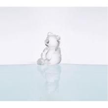 Estatua de cristal con forma de oso para la decoración del hogar