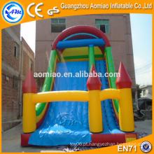 PVC inflável slide, slide seco, barato inflável slide para venda