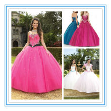 Sexy Sweetheart Neckline Embroidery Strapless Dresses Most Beautiful Quinceanera Dress(QUMO-1013)