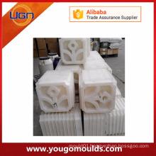 Customized plastic concrete mould for paving