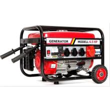 2kw avec roues et poignée générateur d'essence triphasé