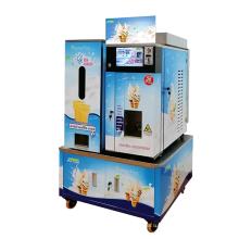 Полностью автоматический настольный торговый автомат для мороженого