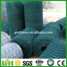 Anping Factory galvanized / pvc coated hexagonal wire mesh/hexagonal chicken wire mesh