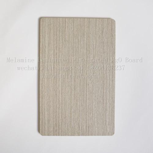 Tablero decorativo MGO de panel de pared incombustible de 6 mm