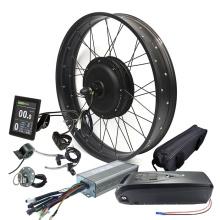 2021 48v 1500w fat bike conversion kit electric bicycle tire electric bike kit