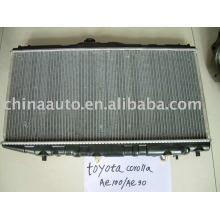 Алюминиевый маслянный охладитель радиатора для Тойота Королла