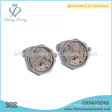 Free sample mens copper jewelry,watch movement cufflink