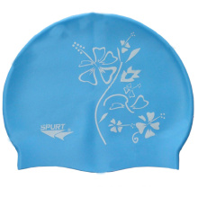 Silicone Swim Cap with Logo Prinitng (GK18-002)