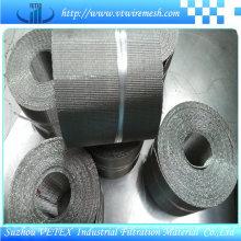 Malla de alambre cuadrada de acero inoxidable utilizada para aceite