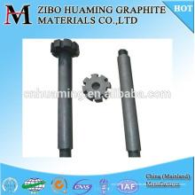 Rotor del grafito de China para la desintegración de aluminio de fusión