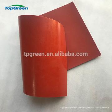 Hoja de goma de silicio blanca roja de 0.3-10mm