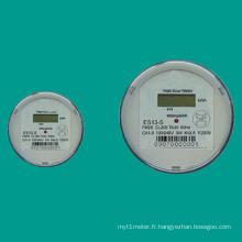 Es12-S / Es13-S Type de douille monophasé Compteur d'électricité