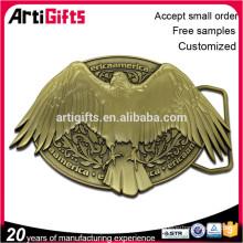 Diseño personalizado de buena calidad hebilla de cinturón de metal