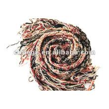 2012 écharpe en laine tricotée à la mode