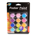 Fashionable designed colourful Poster Paint for kids drawing