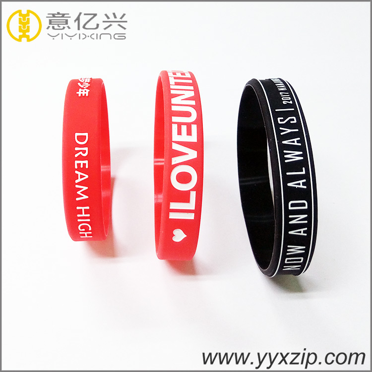 Professional Design Silicone Wristbands