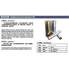 Metallisierter Thermo-Laminierfilm mit Silber und Goldfarbe