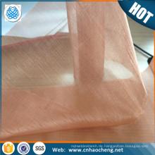 Großhandel 10 60 80 100 200 mesh emf schutz kupfer mesh rfid blockierung stoff