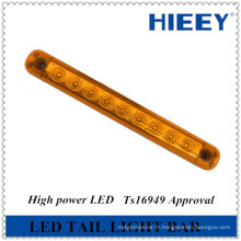 """Barre de lumière à LED étanche étanche 10 """"pour camion-remorque, arrêt / queue / tour combiné"""