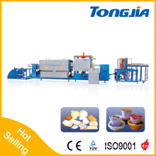 Fully Automatic Foamed PSP Fast Food Container Extruder and Vacuum Machine