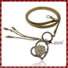 Belle Chaîne de taille en métal Plaqué or, Chaussure de ceinture