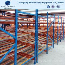 Warehouse Gravity Self Slide Shelf Rack