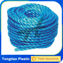 Colored PE twisted rope,Twisted Rope resistance to UV and chemical
