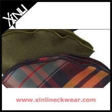 Bufanda de cuello redondo redondo de seda clásica