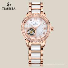 Bestnote automatische Uhr mechanische Uhr mit wasserdichtem Qualität 71001