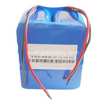 12V 30Ah lithium ion batterie, 18650 batteries