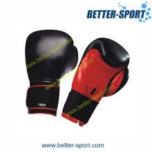 Кожаные боксерские перчатки, тренировочные боксерские перчатки из Китая