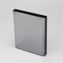 shaped acrylic cheap glass trophy cube awards