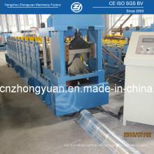 Профилегибочная машина для холодной прокатки коньковой стали