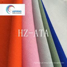 Tecido liso tecido de poliéster Tc tingido para tecido Workwear