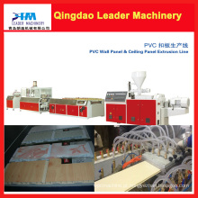 Logo linha de produção / máquina do teto do PVC do tempo de entrega