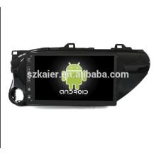 Oktakern! Auto-dvd Android 8.1 für Hilux 2012 mit 10,1 Zoll kapazitivem Schirm / GPS / Spiegel-Verbindung / DVR / TPMS / OBD2 / WIFI / 4G