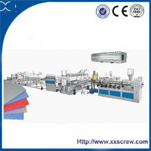 PC (поликарбонат) Машина для изготовления тисненых листовых экструдеров