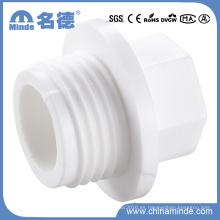 PPR White Fittings-Tuber Plug para materiales de construcción