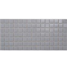 European Style Heat Insulation Indoor Decorative Grey Mosaic Glass Tile