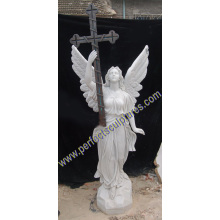 Marble Granite Angel Monument with Angel Tombstone Angel Headstone (SY-X1544)