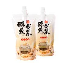 Hot Sale Liquid Packaging Stand Up Spout Pouch For Water/Soy Milk/Coffee/Juice/Jelly/beer