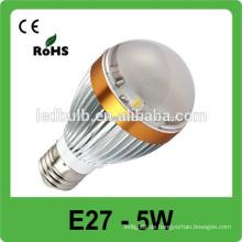 Energiesparendes Aluminiumlegierungs-Punktlicht, SMD 5W E27 dimmable geführtes Punkt-Licht