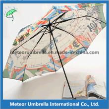 Parapluies Themal Digtal Printing pour cadeau et promotion