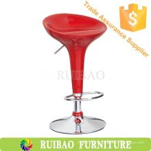Оптовая продажа RBS-6000 Барная мебель Clear Abs Hard Plastic Bar Stool