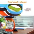 Porta-pulseira de silicone para garrafa de água sem BPA
