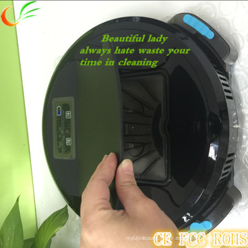 Limpiador simple del control y aspirador del robot