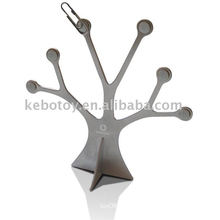 Forma de árvore e clipes de vara, árvore magnética