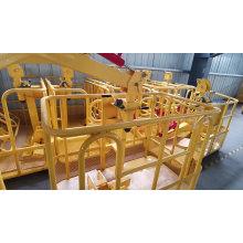 1,2 m 1,5 m LKW-Kranlift Arbeitswiegeplattform Hydraulic Mobile Man Auslegerliftplattformkorb