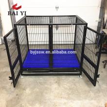 Forte caixa quadrada grande gaiola com rodas para o mercado dos EUA