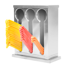 Porta cuchara de acero inoxidable